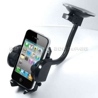 11 Accessory Bundle for Apple iPhone 4 Case Charger Car Holder LCD