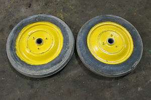 John Deere L M Tractor Front Rims and Tires