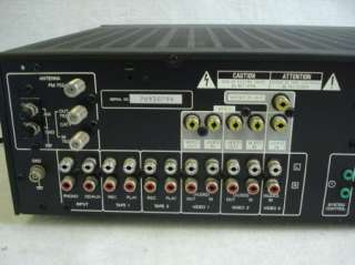 Vintage Kenwood Audio video Stereo Receiver Tuner Amplifier KR V106R