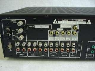 Vintage Kenwood Audio video Stereo Receiver Tuner Amplifier KR V106R