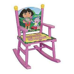 Rocking Chair Dora The Explorer Baby Furniture Gliders & Rockers