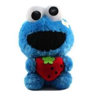 Furyu Official Sesame Street Cute Strawberry Big Plush   3304   12