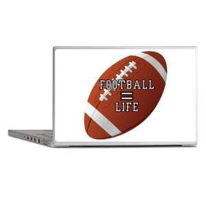 Laptop Notebook 7 Skin Cover Football Equals Life