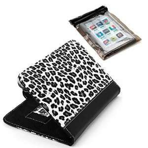 New High Quality Black and White Leopard Carrying Case for BlackBerry