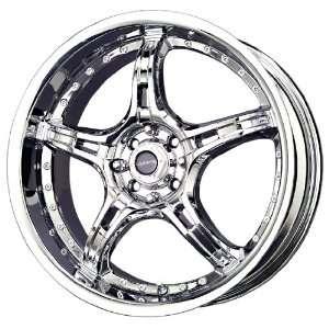 Liquid Metal Merker Series Chrome Wheel (18x7.5/5x115mm