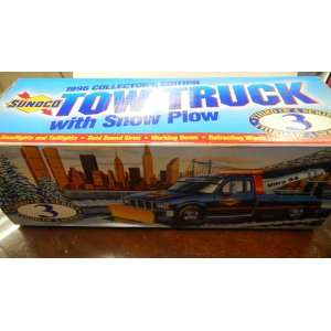Sunoco 1996 Collectors Edition Tow Truck With Snow Plow