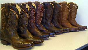 NIB Womens Vaquero Tony Lama Western Leather Authentic Cowgirl Boots
