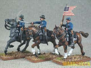 25mm American Civil War WDS painted Union Cavalry h69