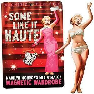 Some Like it Haute Vinyl Magnetic Wardrobe Dress Up Kit Toys & Games