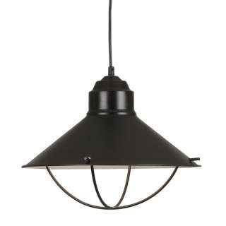 NEW 1 Light Nautical Large Pendant Lighting Fixture, Oil Rubbed Bronze