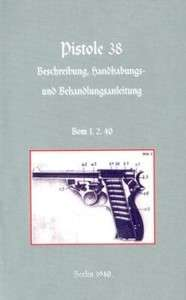 Walther P38 Pistol NEW by Army German Army 9781843425922
