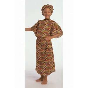 Ethnic Costumes Girls West African: Office Products