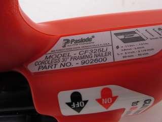 Paslode Cordless 30 Degree Framing Nailer Model CF325Li 902600 |