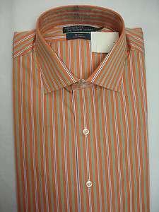 Polo Ralph Lauren DRESS SHIRT REGENT Spread Orange NWT