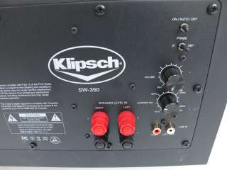 Klipsch SW 350 Powered Subwoofer