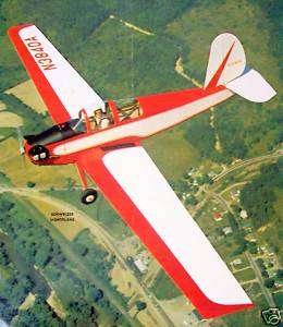 SCHWEIZER 1 30 Berkeley Scale Model Airplane Kit PLANS In Two Sizes