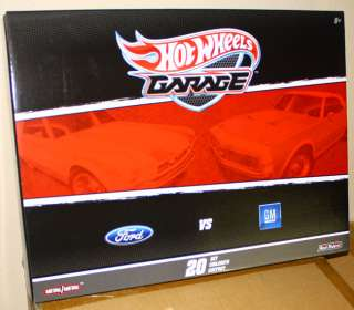 HOT WHEELS GARAGE 164 SCALE FORD VS CHEVY 20 CARS SET