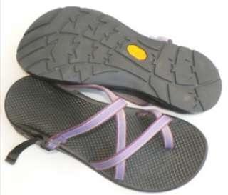 CHACO Zong X Ecotread Womens 9 PURPLE Sandals Shoes Vibram Soles