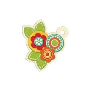 We R Memory Keepers   Embossed Tags   Flowers Arts