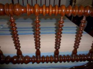 Full Size Jenny Lind Spool Bed w Side Rails ~ Solid Wood