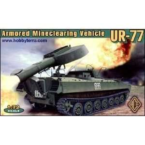 UR77 Mine Clearing System Tracked Armored Vehicle 1 72 Ace