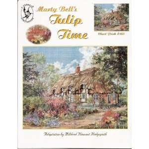 Marty Bells Tulip Time Needlepoint Chart Arts, Crafts