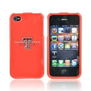 TEXAS TECH RED RAIDER For NCAA iPhone 4 Hard Case Cover