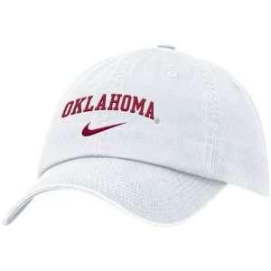 Nike Oklahoma Sooners White Campus Adjustable Hat Sports