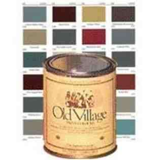 OLD VILLAGE 1715PT Acrylic Latex Paint 1 PT   Forest Green at