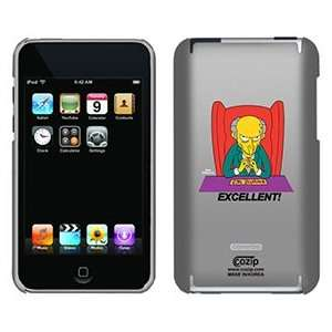 Mr Montgomery Burns The Simpsons on iPod Touch 2G 3G CoZip