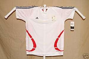 Team FRANCE FFF Adidas Formotion SOCCER JERSEY XL NwT