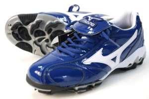 New Mizuno Baseball Cleats Navy Mens Sz 8.5 Softball