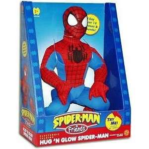 Electronic Talking Hug N Glow Spider Man  Toys & Games