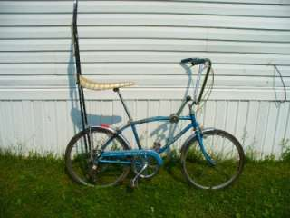 Vintage 1967 Schwinn Stingray Fastback 5 Speed Bicycle