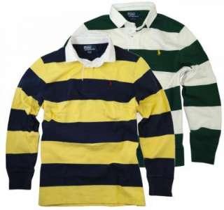 NWT Polo Ralph Lauren Mens LS striped Rugby Shirt
