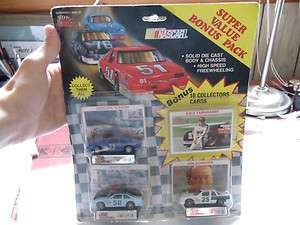 Early 1990s NASCAR die cast cars 3 pack Racing Champions Dale