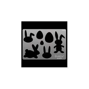 QuikArt Template   Easter Bunnies & Eggs