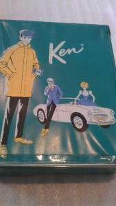 Ken carrying case, ken doll w/ ken and BARBIE clothes and shoes