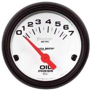 Auto Meter 1 5/8 Pressure Gauge   0 100 psi   Black Face 2174
