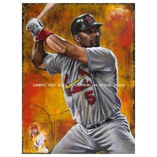 Legendary Sports Prints Albert Pujols Print St. Louis Cardinals The