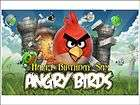 Angry Birds Edible Image Cake Topper Personalized 1/4 sheet