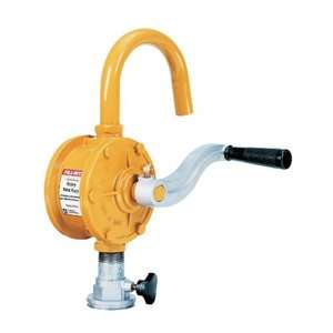 Fill Rite SD62 Rotary Vane Hand Crank Curved Spout Fuel Transfer Pump