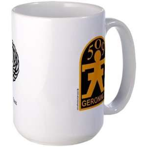 509th PIR with Jump Wings Military Large Mug by CafePress: