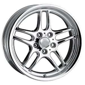 18x9 Detroit Style DMP (Chrome) Wheels/Rims 5x120 (DMP1