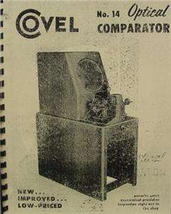 Covel No. 14 Optical Comparator Manual