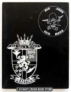USS JOHN McCAIN DDG 36 WESTPAC CRUISE BOOK 1972