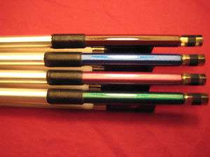 Blue/Purple/Brown/Green Carbon Fiber Violin Bow 1/2