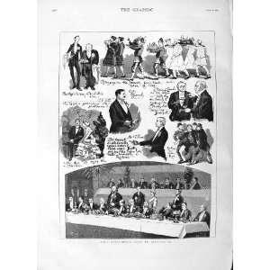 SCENE LORD SALISBURY BIRMINGHAM MEN MEETING GIBSON