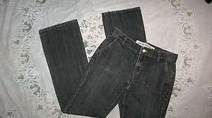 NEW Womens Black GAP Low Rise Boot Cut Jeans, Sz 6