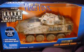 BBI Elite Force 1:18 USMC LAV 25 Light Armored Vehicle